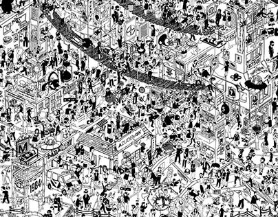 Illustrationen Complication 2018-2019