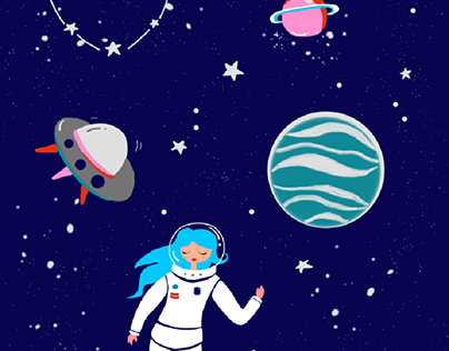 Illustration on the theme Space