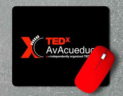 Diseño de logo Organización TEDx Segovia