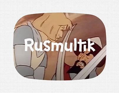 Rusmultik / Logo & Corporate Identity