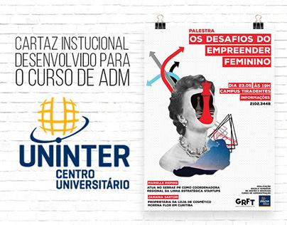 Cartaz Institucional Uninter