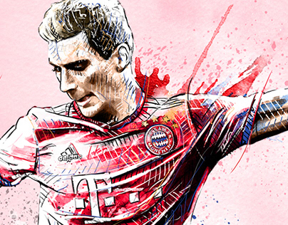 FC Bayern Munich Illustrations