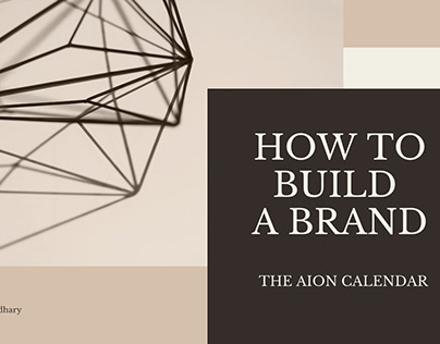 How to Build a Brand.
