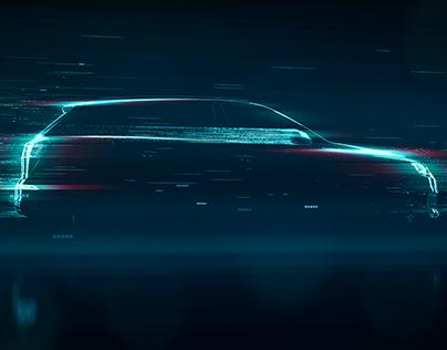Audi - Particle Stream