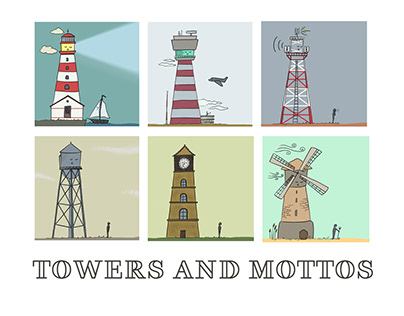 Towers and Mottos
