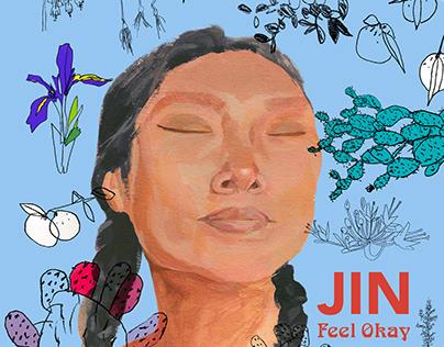 Jin - Feel Okay (Single cover art)
