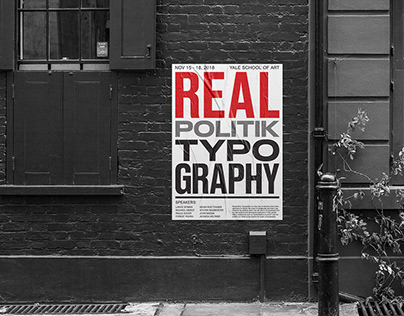 Realpolitik Typography Conference