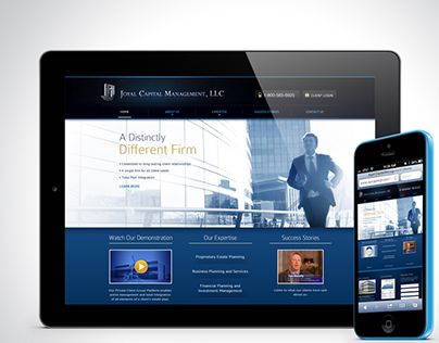 Joyal Capital Management Website Redesign