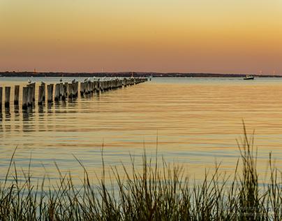 Sunset at Raritan Bay