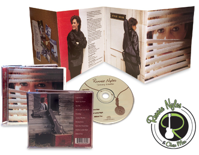 Ronnie Nyles Band Logo & CD Cover