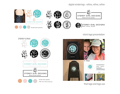 Logo design - Storey Girl Designs