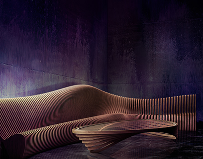 Parametric Couch & Table
