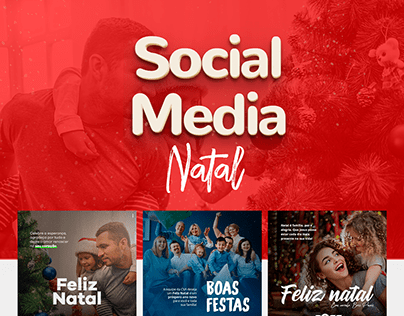 Social Media - Natal e ano novo
