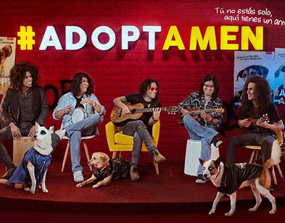#Adoptamen, plazaVea y Matchcota