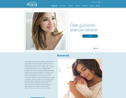 Eruslu Healthcare Website