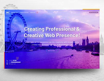 Web Agency - Landing Page.