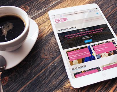 Future Media Lab. Website Layout