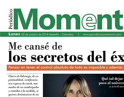 Periodico Momentum - Diseño Editorial