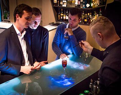 Bar interactif et digital Le Cinq Codet