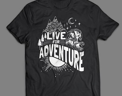 Adventure Travel T-shirt Design