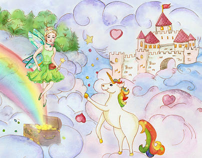 Illustrations for The Fairy Wish book