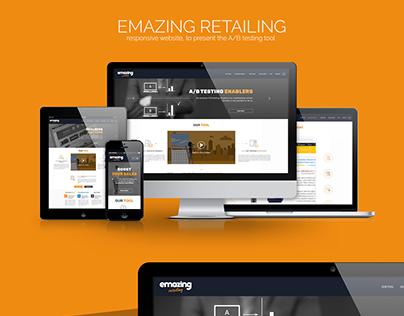 EMAZING Retailing - Responsive Website