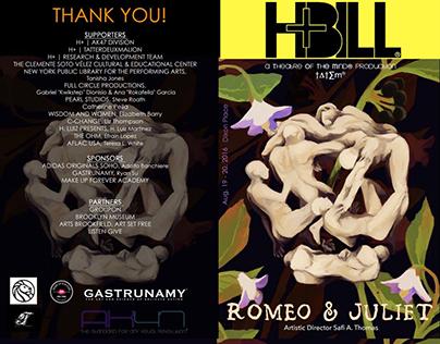 H+ Hip Hop Conservatory Romeo & Juliet Playbill