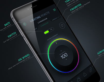 Lighting Remote app
