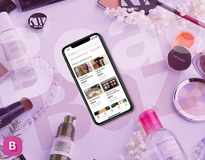 UX/UI Beauty Bazar