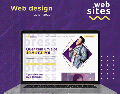 Web Design - Web Sites - 2019 - 2020 - Muahoo Lab - UI