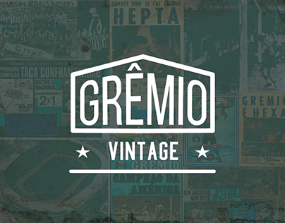 Grêmio Vintage :: Branding and Product Design