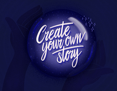 Create Your Own Story — Lettering