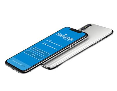 Navigator App to paper challenge - UI/UX project