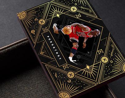 Purgatory Michael Jordan Basketball Card Concept