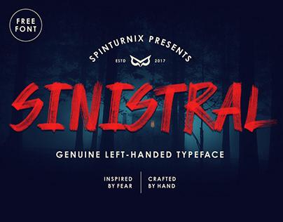 Sinistral | Hand-Written SVG Font - FREE Vector version