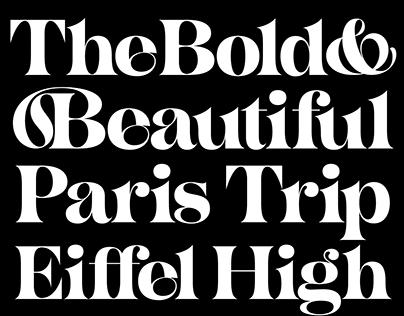 Sisteron Typeface
