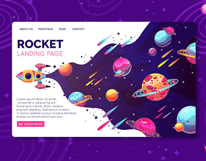 Rocket LANDING PAGES