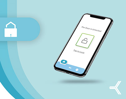 Keyring App: Smartlock | UX/ UI