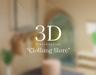 3D Visualization : Clothing Store