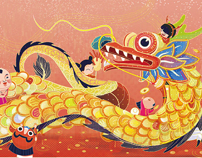 Illustration about Chinese tranditional Festivals