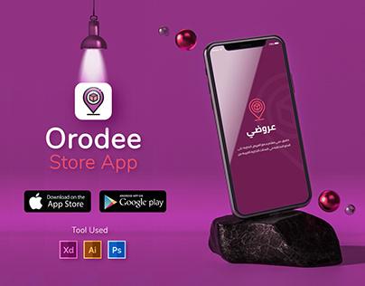 Orodee Store App - UI UX