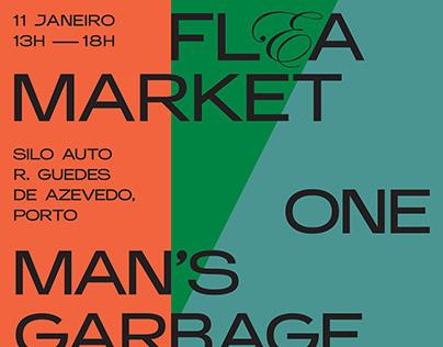 FLEA MARKET OPORTO - Poster