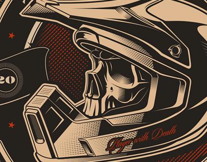 "Illustration ""The Born Riders"""