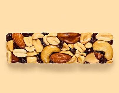 Embalagens Barrinha de Cereal Nuts - Nutrimental