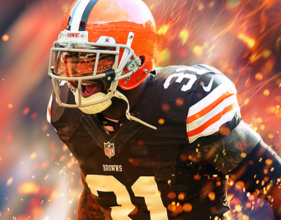 2014-2015 Cleveland Browns Digital Work