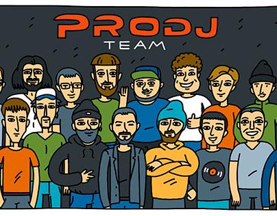 PRODJ Team