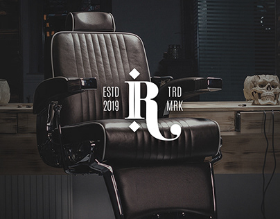 Rafa Barbershop Logo & Identity