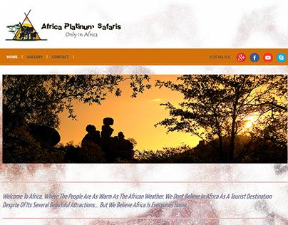 Africa Platinum Safaris Website