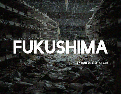 """FUKUSHIMA"", fan art inspired by ""CHERNOBYL"""