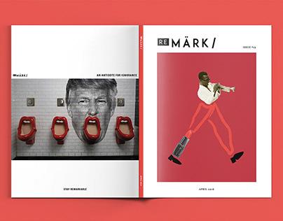 Remark: Magazine – Print Design